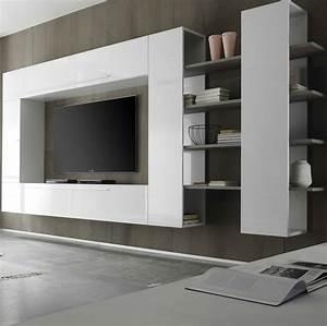 Parete attrezzata soggiorno Primo Line 03 Casa Arredo Studio