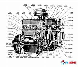 Chevrolet 235  U0026 261 Engine Diagram  Swengines