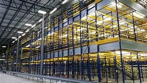 Aisle Lighting System Pick Modules Warehouse Design