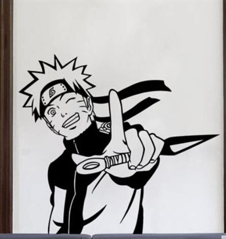 buy naruto vinyl wall sticker japanese