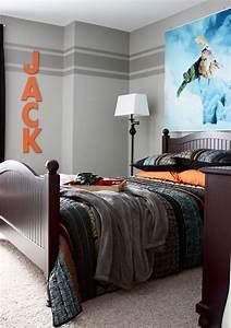 Graue Wandfarbe Wirkung : 65 wand streichen ideen muster streifen und struktureffekte ~ Lizthompson.info Haus und Dekorationen
