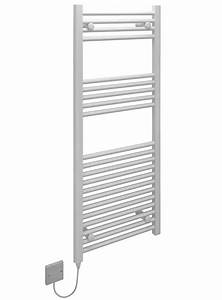 Kudox Electric Towel Rail White 400w  500 X 1200mm