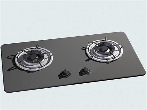 gas burner stove  model ds max files