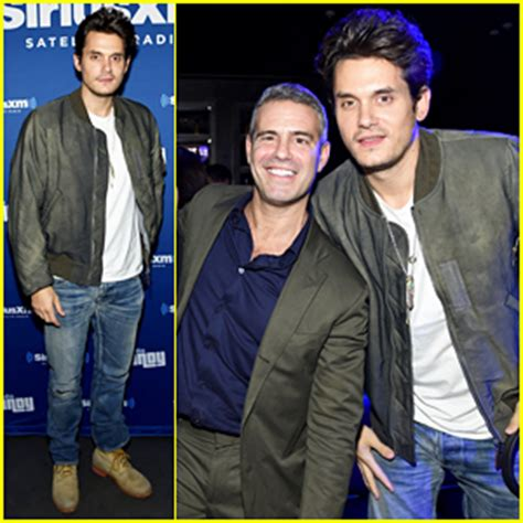 andy cohen live sirius john mayer helps andy cohen celebrate at radio andy