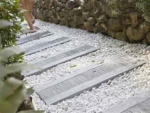 best allee de jardin en tout venant images design trends With allee pour voiture dans jardin 5 comment choisir une pierre naturelle pour les allees