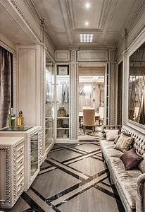 Neoclassical and art deco features in two luxurious for Art deco train interior