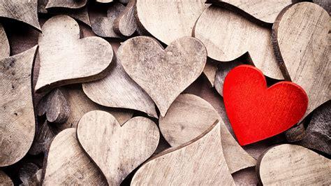 Wood Hearts 4k High Definition Wallpaper