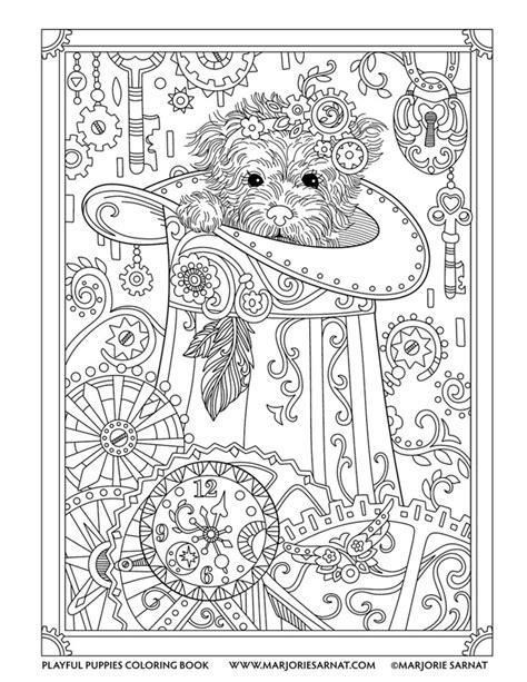 playful puppies marjorie sarnat design illustration