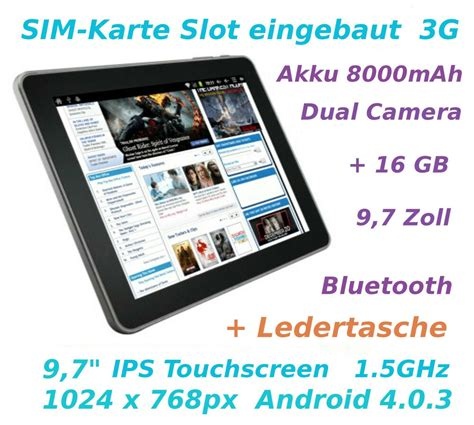 zoll tablet pc superpad mit sim karte  android