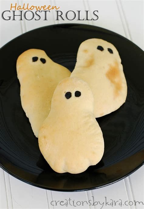 halloween recipe ghost rolls