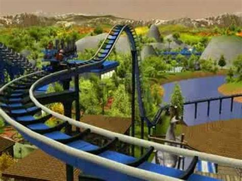 rct blue mountain park part ii  time machine youtube