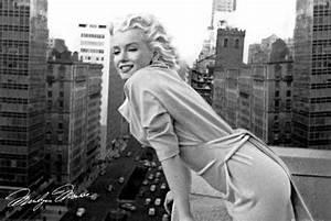 Marilyn Monroe Bilder Schwarz Weiß : marilyn monroe balkony poster 91 5x61 ~ Bigdaddyawards.com Haus und Dekorationen