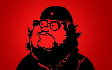 che guevara pixel communist griffin simple background