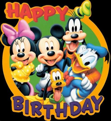 happy birthday disney style fb cards happy birthday