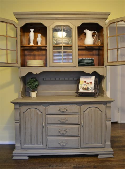 Painted Hutch Ideas - annetique designs completed furniture
