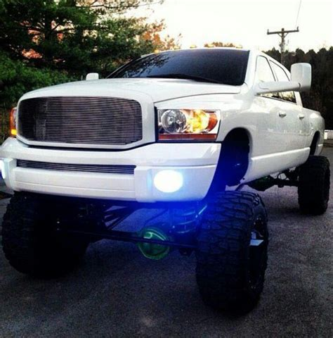 cummins truck white thing of beauty and a joy forever white lifted cummins