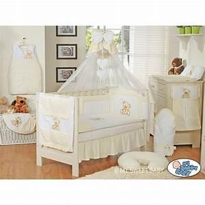 Parure De Lit Marbre : parure de lit b b compl te ours teddy beige marron chambre b b ~ Melissatoandfro.com Idées de Décoration