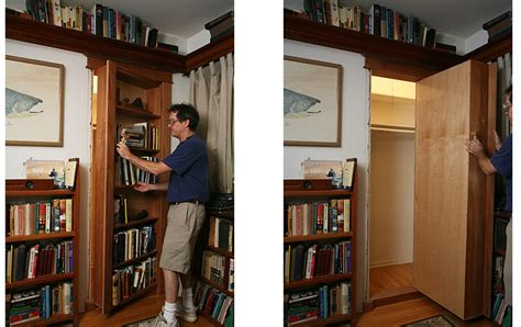 bookcase door plans hidden door woodwork city