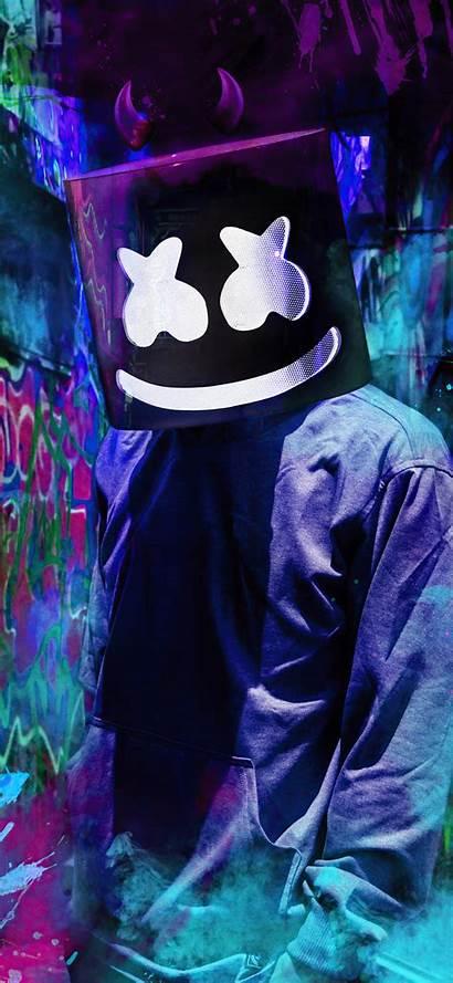 Marshmello Mask 4k Iphone Dj Wallpapers Pc