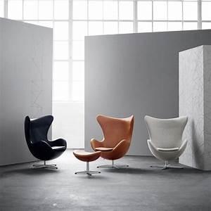 Fritz Hansen Egg Chair : egg chair footstool leather fritz hansen ~ Orissabook.com Haus und Dekorationen