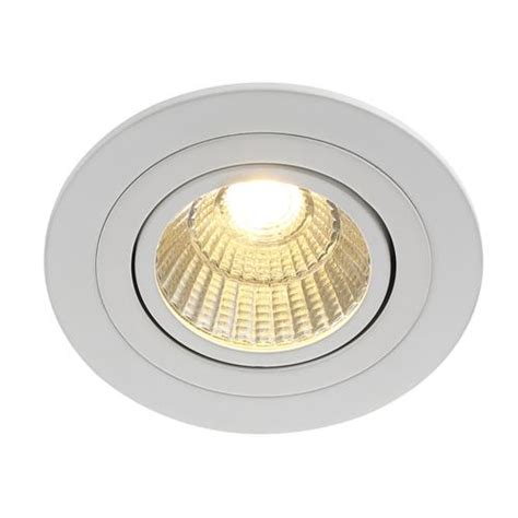 loke 10 watt dimmable led recessed spot light 90030001