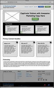 Responsive Website Wireframes UI Wireframes Portfolio