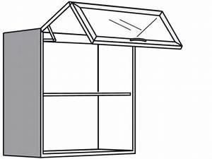 Hängeschrank Mit Glastür : h ngeschrank mit falt lift glast r ~ Orissabook.com Haus und Dekorationen