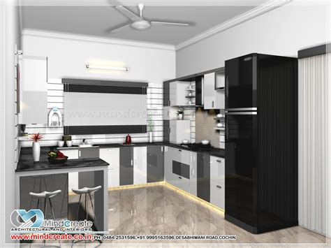 model kitchen design contemporary model kitchen kerala model home plans 4186