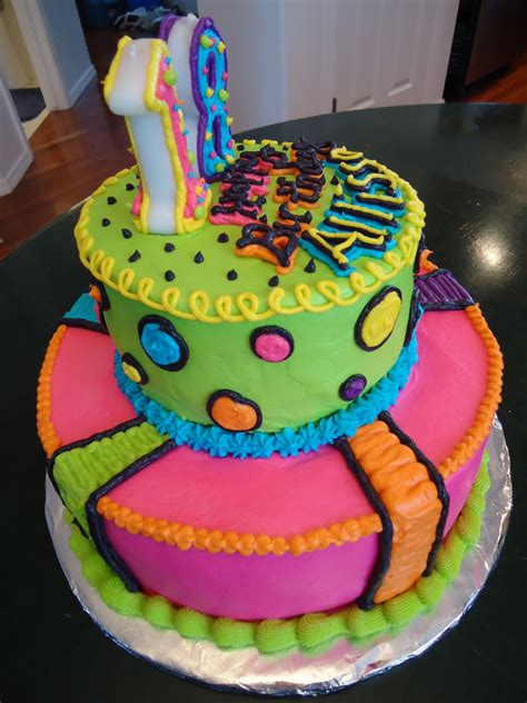 Cats Cake Creations Neon Lights Bright Bright Bright