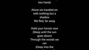 Of monsters and men-Mountain Sound with Lyrics - YouTube