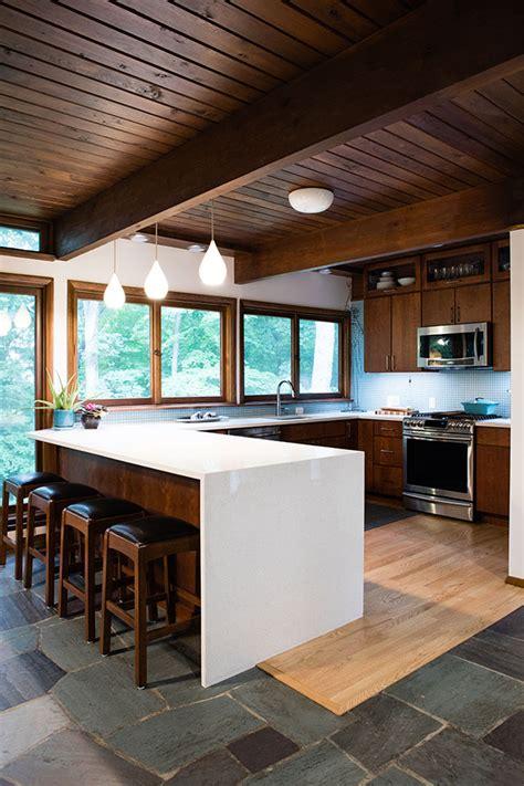 west lafayette mid century modern kitchen remodel