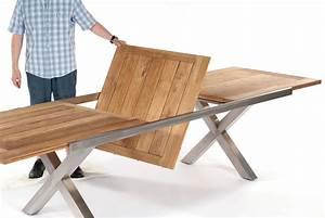 Gartentisch Ausziehbar Holz : gartentisch holz edelstahl ausziehbar ~ Indierocktalk.com Haus und Dekorationen