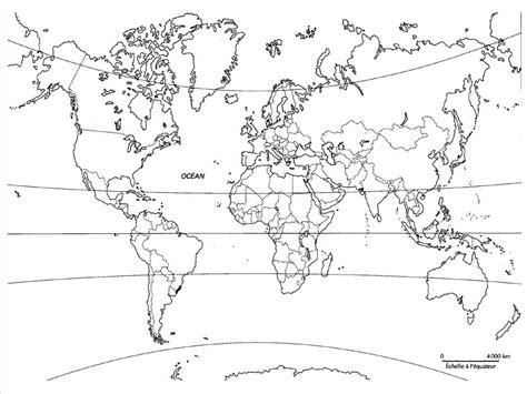 Carte Du Monde Vide A Completer by Planisph 232 Re Monde Noir Et Blanc Zl85 Jornalagora