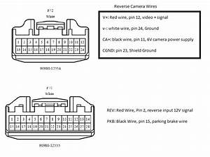 Factory Toyota Sienna Reverse Camera Wiring Diagram