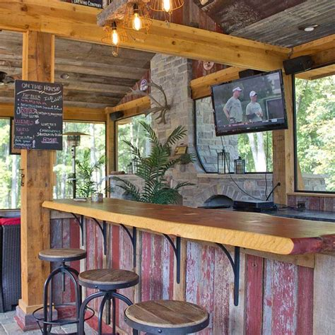 How To Build A Bar In Your Backyard by 10 Inspiring Outdoor Bar Ideas The Family Handyman