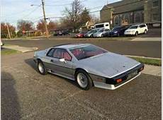 Lotus Esprit 1986, Turbo, Silver over Red Connolly Leather