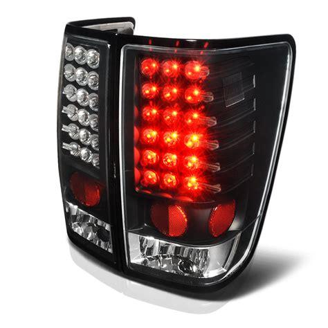 nissan titan led lights 2004 2014 nissan titan performance led tail lights black