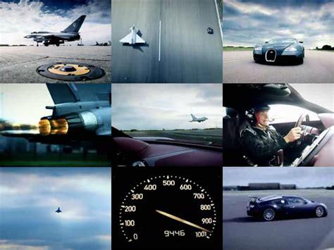 世界一の最高速市販車だった車と戦闘機が対決するムービー