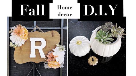 D I Y Home Decor : Fall Home Decor D.i.y