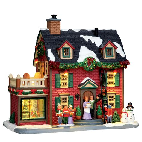 lemax christmas villages lemax collection building decorating the new hearth shop