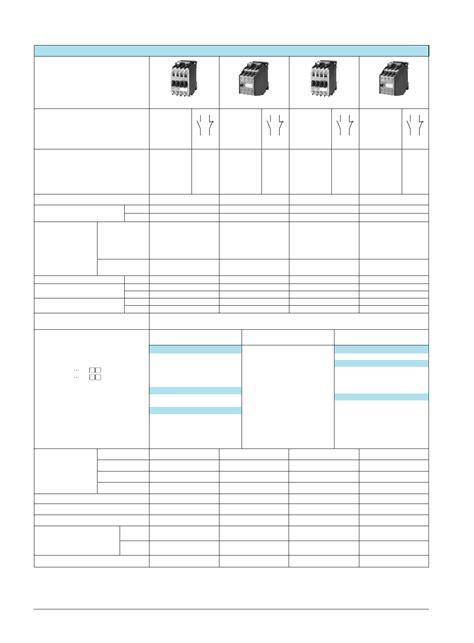 pdf 3tf48 datasheet contactors datasheetspdf com