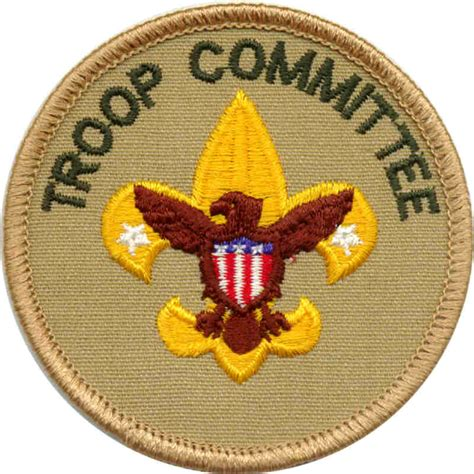 cub scout committee chair patch placement boy scout troop 155 whitinsville ma