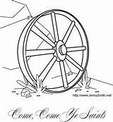 Wagon Wheel Coloring Yahoo Ye sketch template