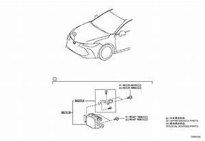 Toyota Avalon Cruise Control Distance Sensor  Sensor
