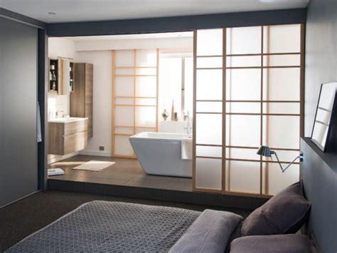 salle de bain dans chambre parentale une suite parentale japonisante maisonapart