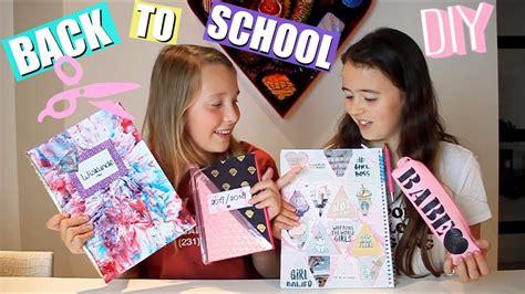 Diy Back To School  Diy Schoolspullen Pimpen Youtube
