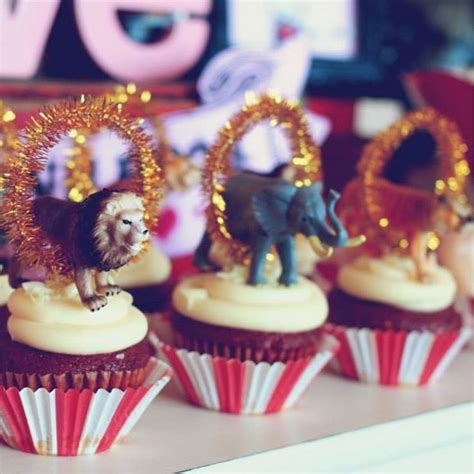 The Greatest Showman themed party deserves the greatest circus cupcake toppers  DIY is the