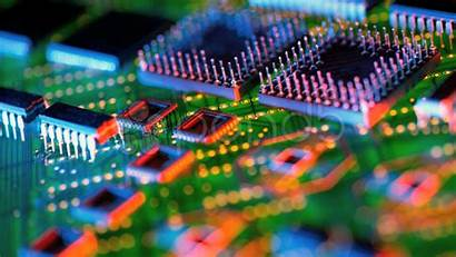 Circuit Integrated Circuits Background Wallpapers Electronics Printed