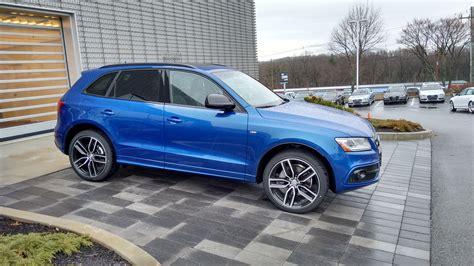Blue Audi Q5 by Audi Sq5 Moonlight Blue Black Optics Page 3