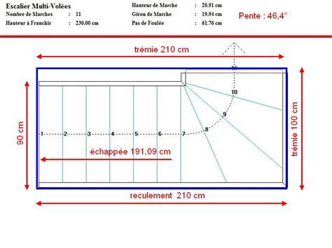 calcul d 39 un escalier avec palier calculer un escalier exterieur hompot